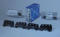 Cruz Kit za strešni prtljažnik za Škoda Fabia in Seat Toledo - Odprta embalaža