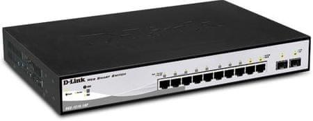 D-Link Gigabitni switch D-Llink DGS-1210-10P, 10-portni