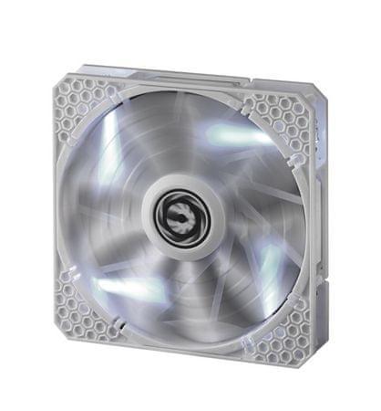 BitFenix Ventilator za ohišje Spectre PRO, 140mm, bel