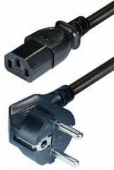 Kabel napajalni Euro 220 V, 5 m