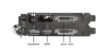 Asus Grafična kartica AMD Radeon R7 260X, 2GB, PCI-E (R7260X-DC2OC-2GD5)