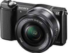 Sony digitalni fotoaparat Alpha a5000 + 16-50 mm (ILCE5000L)