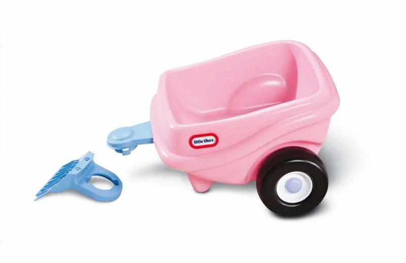 Little Tikes Růžový přívěs ke Cozy Coupe