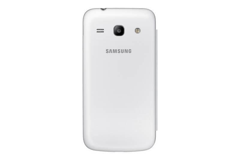 Samsung Flip EF-FG350 Galaxy Core Plus, bílá