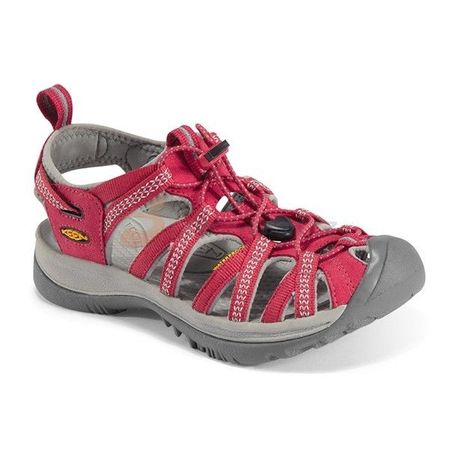 KEEN sandali Whisper W, ženski, rdeči - 40,5