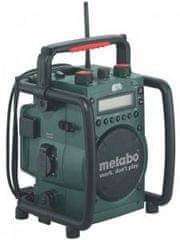 Metabo Baterijski radio za gradbišča z vgrajenim polnilcem RC 14.4-18