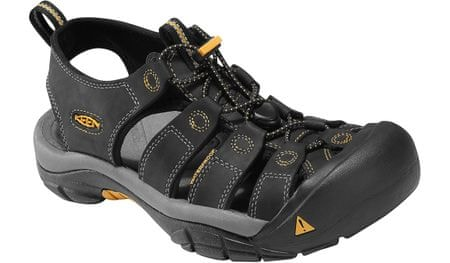 KEEN Newport Black/GoldenG US 11,0 44,5