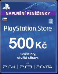 SONY Sony PlayStation Live Cards (PS4) 500 CZK