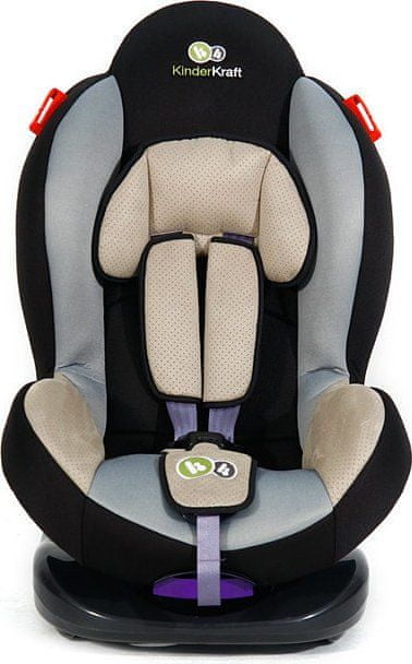 KinderKraft Fotelik samochodowy Shell Plus, grey