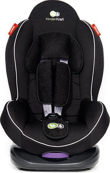KinderKraft Fotelik samochodowy Shell Plus BLACK