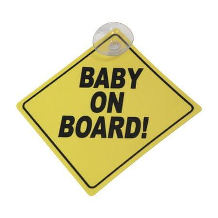 """Avtomobilska oznaka CarPoint """"Baby on board!"""""""