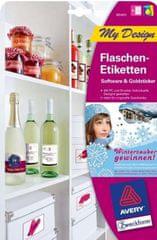Avery Zweckform Etikete za steklenice MD4001 5 listov