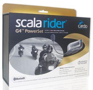 Cardo Komunikacijska naprava System Scala Rider G4 PowerSet