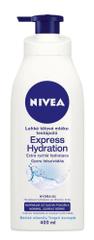 Nivea losjon za telo za normalno do suho kožo Express Hydration, 400 ml