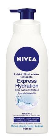 Nivea Lehké tělové mléko pro normální až suchou pokožku (Express Hydration) 400 ml