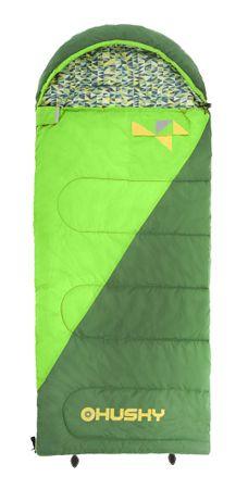 Husky śpiwór Kids Milen -5°C green