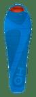Husky Montello -9°C Hálózsák-bal, Kék, 195 cm