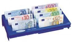 Rottner Predalčnik za bankovce Notes, moder