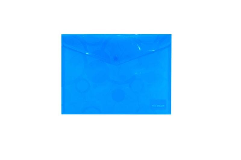 Spisovka s drukem A4 NEO COLORI modrá