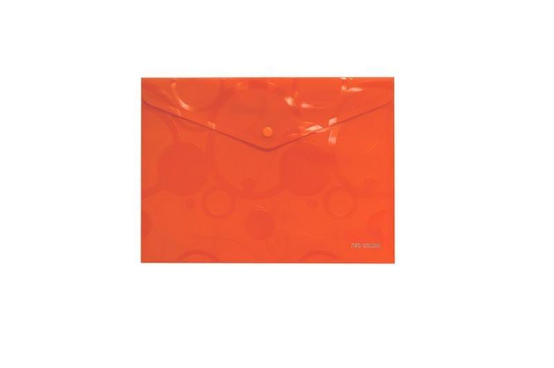 Spisovka s drukem A4 NEO COLORI oranžová