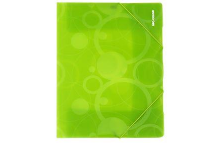 Desky s gumičkou NEO COLORI A4 zelené