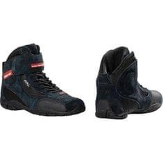 Motoristični čevlji Polo Raptor, črni
