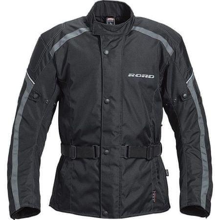 Motoristična jakna Road Touring EVO, siva, moška XXXL