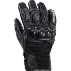Motoristične športne rokavice, črne