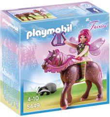 Playmobil 5449 Wróżka Surya z kucykiem