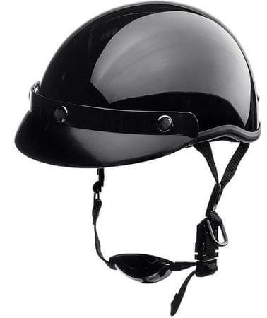 Čelada Delroy Headcap, črna XXL