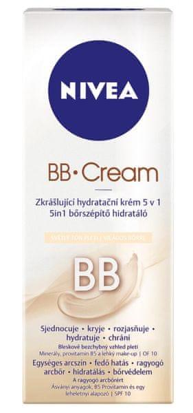 Nivea BB hydratační krém 5v1 světlá pleť