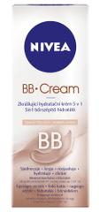 Nivea BB Cream skrášľujúci hydratačný krém 5v1 tmavý tón pleti 50 ml