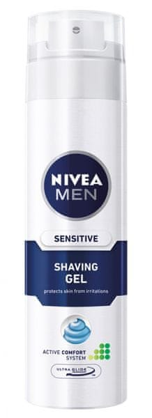 Nivea MEN Gel na holení Sensitive 200 ml