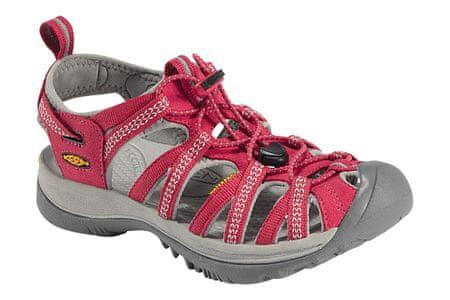 KEEN sandali Whisper W, ženski, rdeči - 40