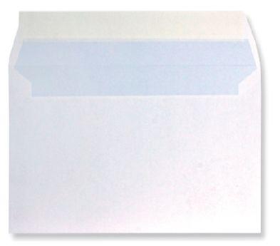 kuverta 120 x 180 mm, bela, 100 kosov