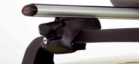 G3 Strešni prtljažnik za strešne sani, aluminij, 110 cm