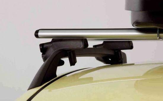 G3 strešni prtljažnik za strešne sani, aluminij, 127 cm