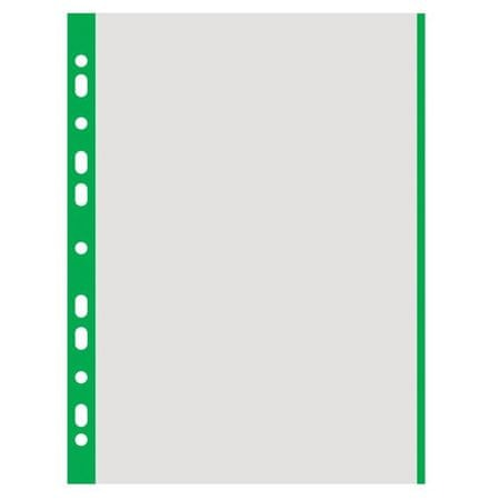 Donau Mapa 'U' A4 mat PP, 40mic (zelen rob) 100/1