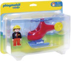 Playmobil Helikopter Strażaka 6789