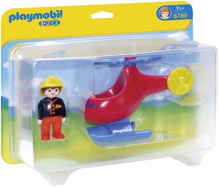 Playmobil gasilski helikopter 6789