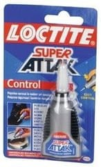 Super Attack Sekundno lepilo Super attack Control 3 g
