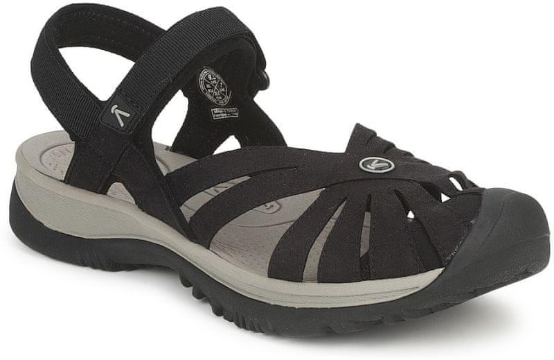 KEEN Rose Sandal W Black/Neutral Gray 38,5