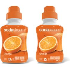 Sodastream Orange 2 x 500 ml
