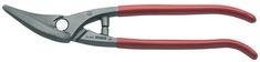 Unior škarje za pločevino 563L/7PR, kovane, izolirane, 280 mm