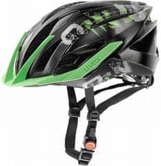 Uvex SNC Black/Green Mat Shiny M - II. jakost