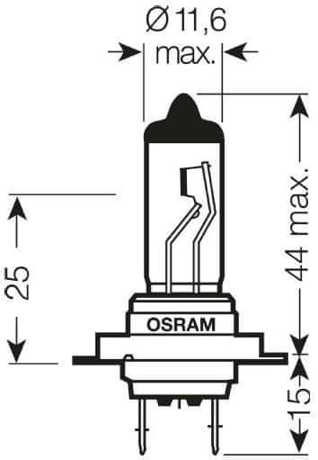 Osram žarnica H7 - 55W Original Line