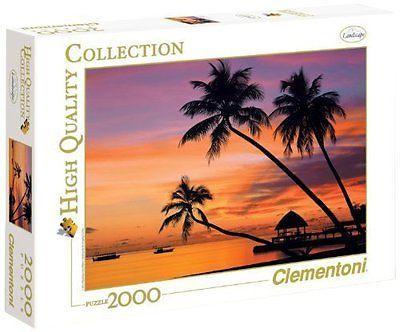 Clementoni Puzzle 2000 el. Malediwy