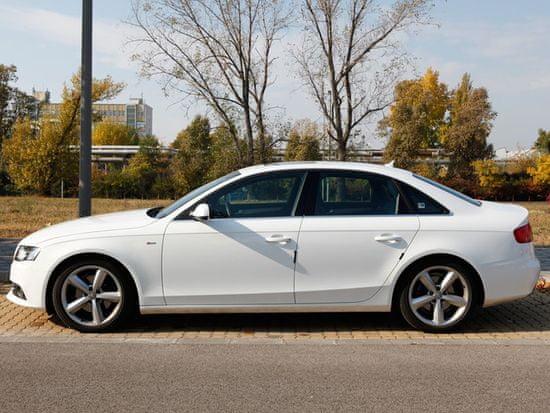 Rati Zaščitna letvica za vrata avtomobila R-Stick, bela, 4 kos