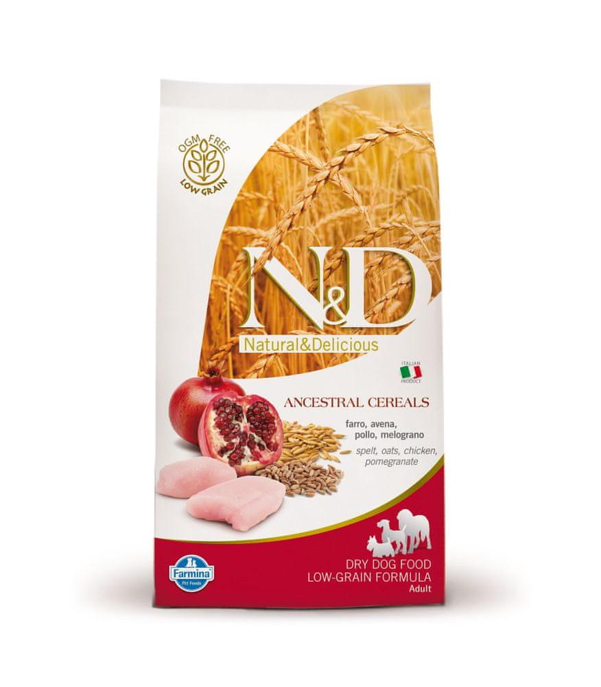 N&D LG DOG Adult Mini Chicken & Pomegranate 2,5 kg