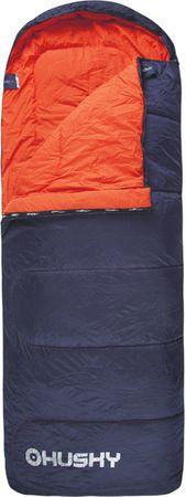 Husky Merel 0°C Hálózsák-jobb, Kék/Narancs, 195 cm